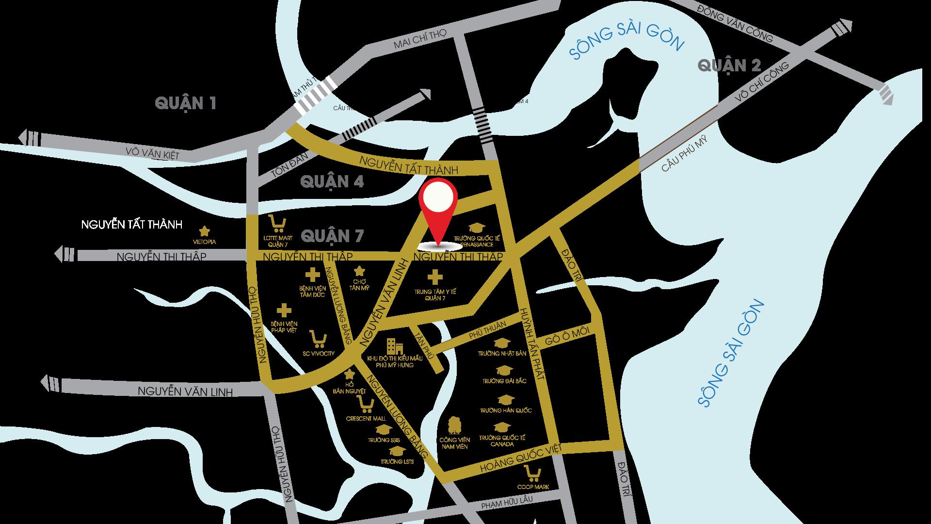 vi-tri-du-an-can-ho-south-gate-tower-quan-7